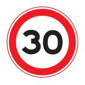 Extra verkeersactie 30 km op 15 juni
